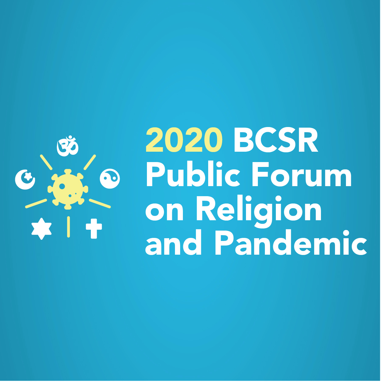 Public Forum on Religion and Pandemic Online Reflections