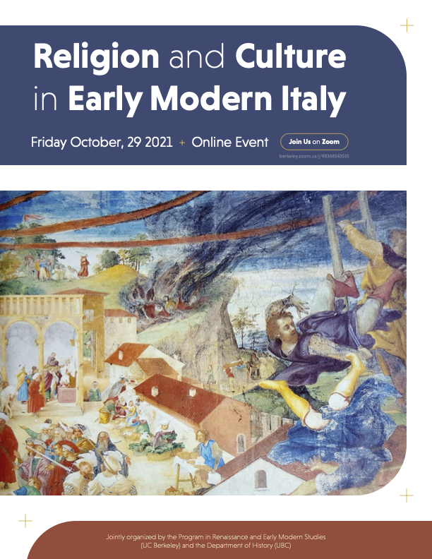 Religion and Culture in Early Modern Italy